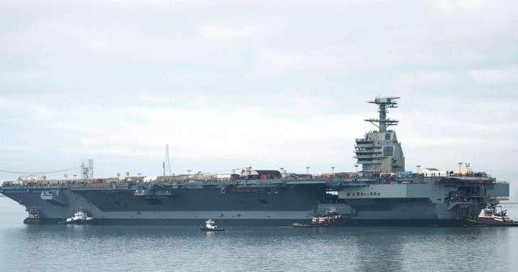 Новейший американский авианосец признали непригодным для боевых действий