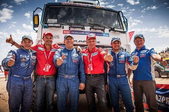 Экипаж команды «КАМАЗ-Мастер» выиграл ралли «Шёлковый путь» в зачёте грузовиков
