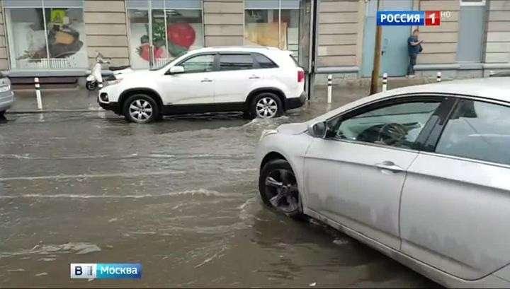 Июльская норма по осадкам в Москве перевыполнена на четверть