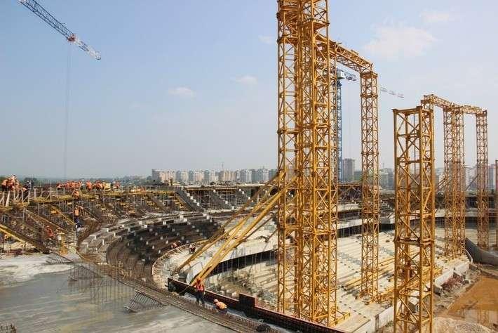 9. Строительство стадиона Мордовия Арена. Июль 2016 Сделано у нас, история, политика, факты