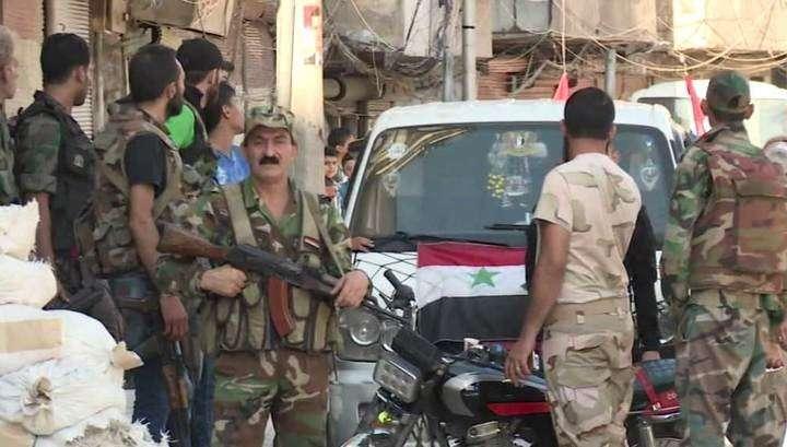 В Алеппо организовано три гуманитарных коридора