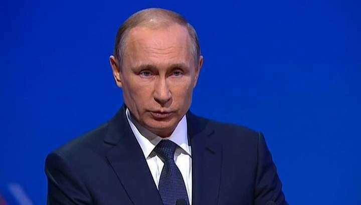 Владимир Путин запустил в работу цех «Аммиак-4» компании Акрон