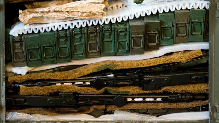 «Прощай, оружие!»: с элитной американской базы в Германии украден целый арсенал