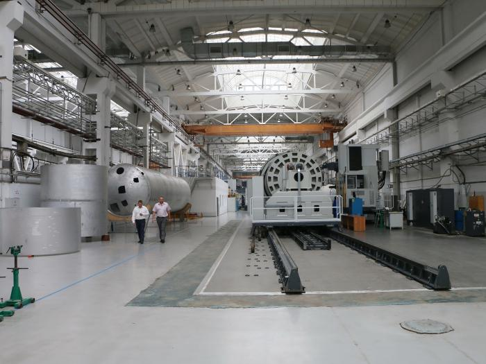 На омском «Полёте» создана новая площадка для выпуска ракеты-носителя «Ангара»