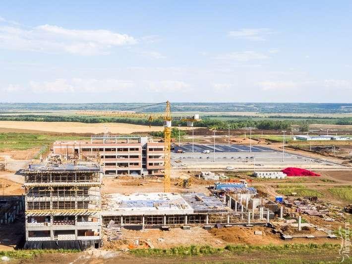 Строительство аэропорта «Платов» Ростов-на-Дону