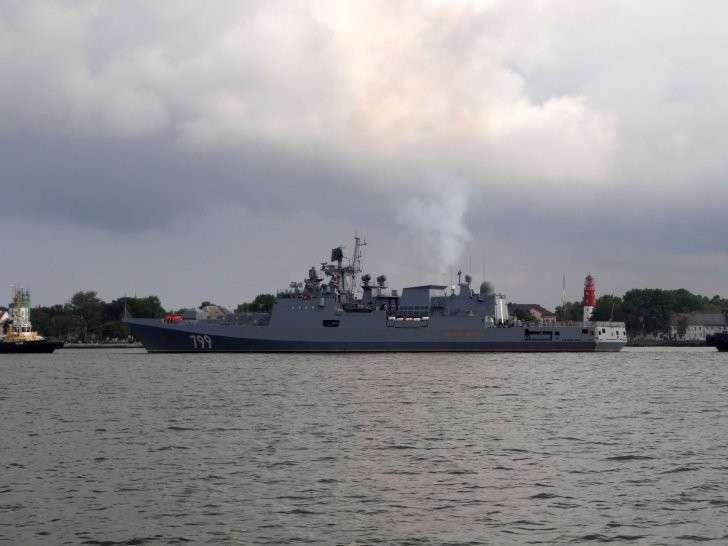 Фрегат «Адмирал Макаров» впервые вышел в море