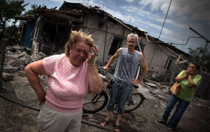 Кровавая Станица. Хунта начала тотальное уничтожение мирных жителей Донбасса