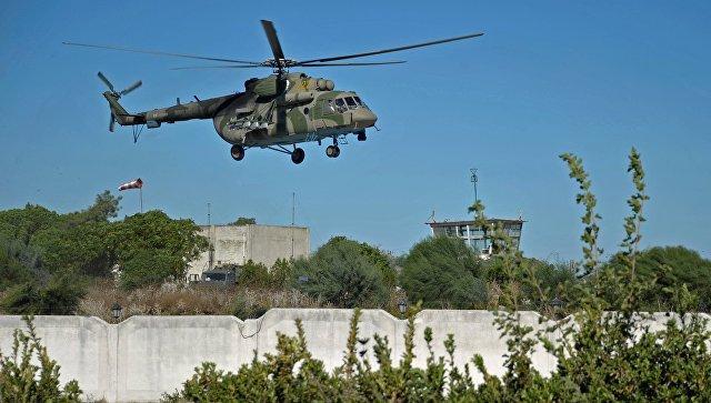 В сирийской провинции Идлиб сбит российский военно-транспортный вертолёт Ми-8