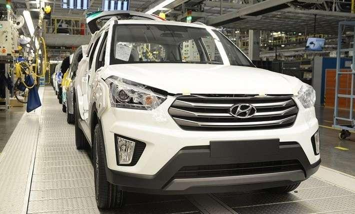 Cерийное производство Hyundai Creta стартовало в Санкт-Петербурге