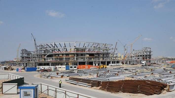 11. Строительство стадиона в Калининграде. Июль 2016 история, политика, факты