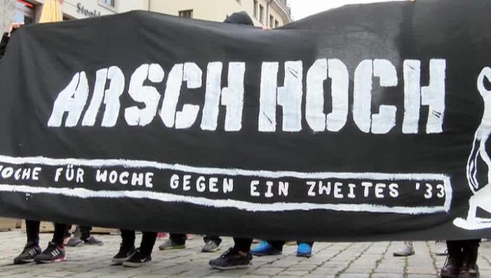 В Дрездене прошла массовая антиисламская акция протеста