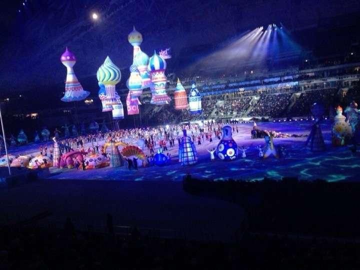 Церемония открытия Олимпиады 2014 в Сочи! Генеральная репетиция! Полный стадион!