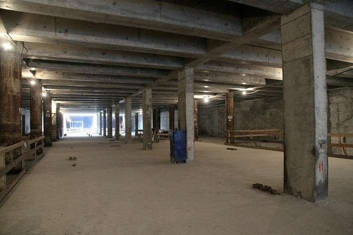 Строительство новых станций петербургского метрополитена