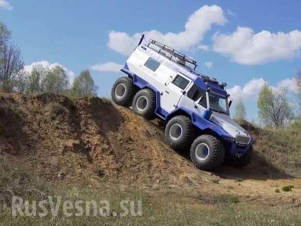 Российский вездеход Шаман поразил иностранных журналистов | Русская весна