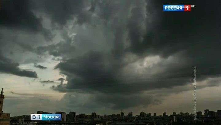 МЧС сохраняет в Москве и области «оранжевый» уровень опасности погоды