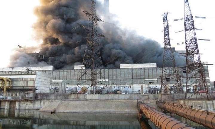 Славянская ТЭС оказалась в критическом состоянии после обстрела
