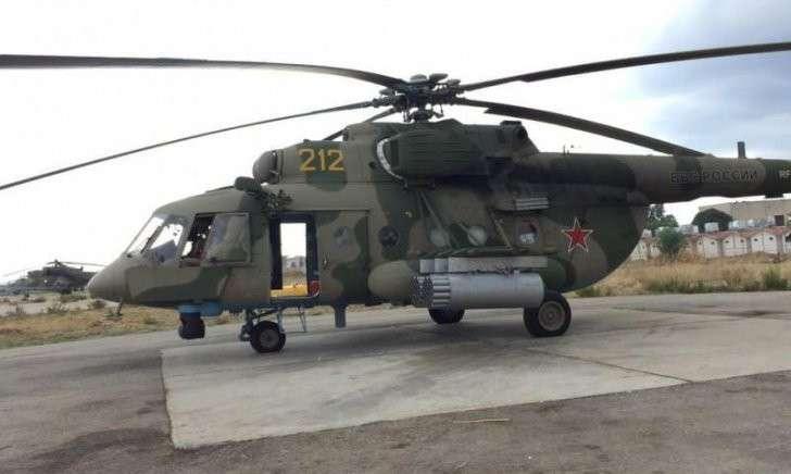Российский Ми-8 в Сирии сбили из Форт-Миде (США)