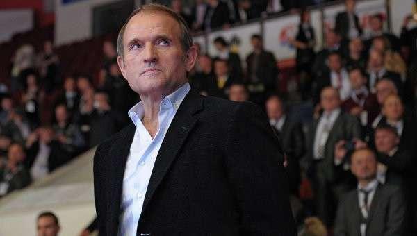 Лидер общественного движения Украинский выбор Виктор Медведчук. Архивное фото.