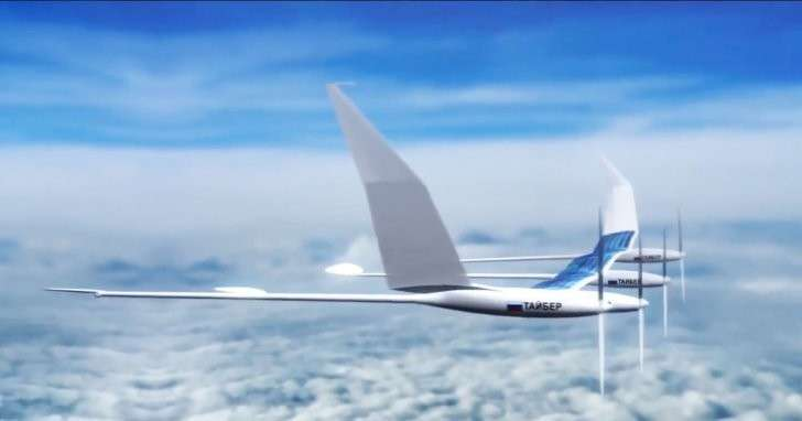 Разработчики показали видео полёта первого атмосферного спутника «Сова»