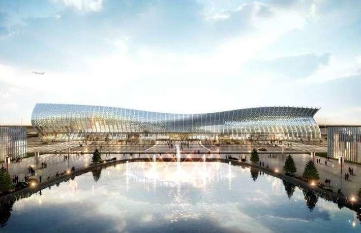 Под Симферополем строят аэровокзальный комплекс
