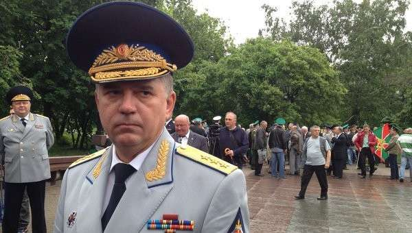 Руководитель погранслужбы России Владимир Кулишов, архивное фото