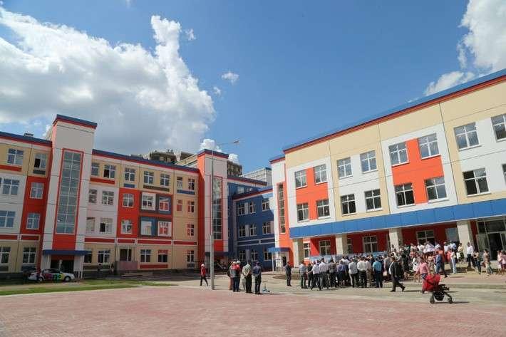 Новые школы и детский сад построены в Ленинском районе Московской области