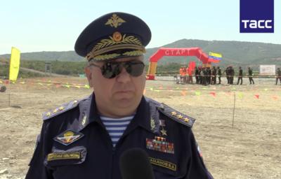 Генерал Шаманов рассказал, какой приз получит победитель конкурса десантников АрМИ-2016