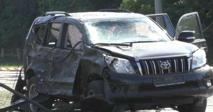 Что стало с машиной Игоря Плотницкого после взрыва