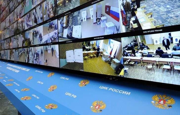 Видеонаблюдение на выборах в Госдуму организуют в 15 регионах России