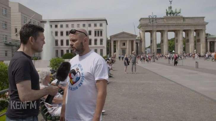 «Рассерженный немец» и с ним 250 единомышленников едут в Россию с миром!