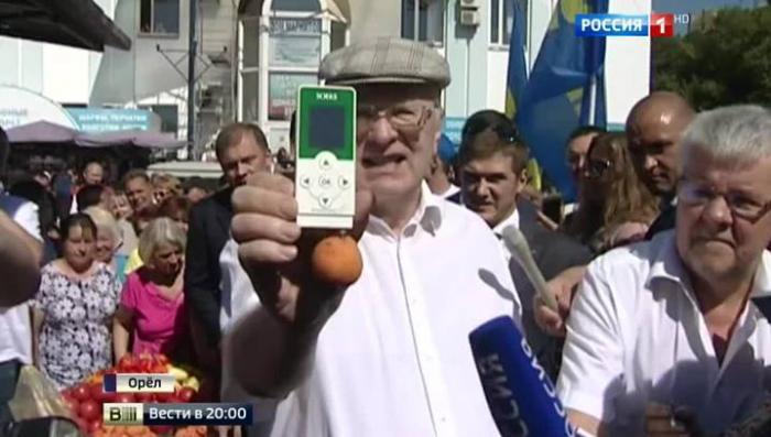 Жириновский заинтересовался нитратами, а Миронов - мультиками