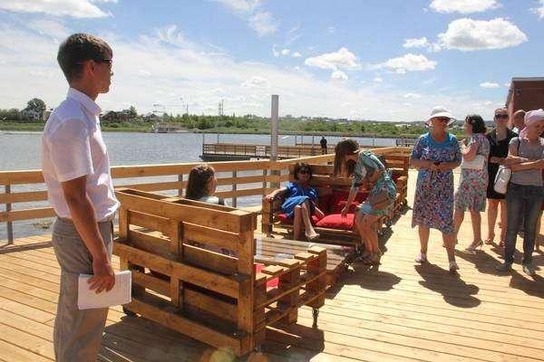 В городе Альметьевск Республики Татарстан открыта новая туристическо-рекреационная зона