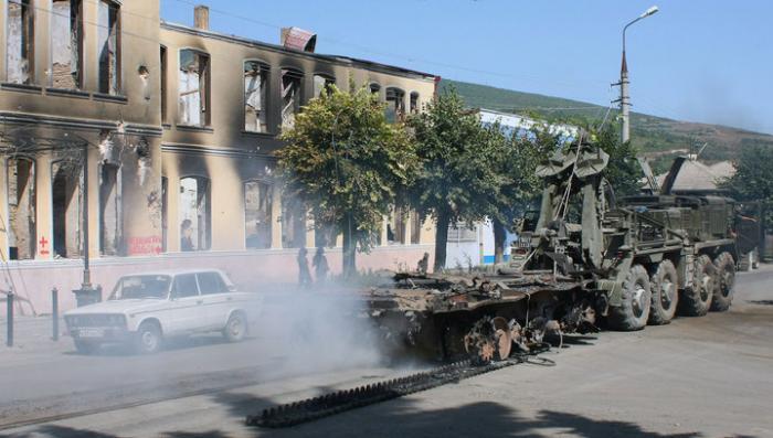В Южной Осетии вспоминают погибших в конфликте 08.08.08