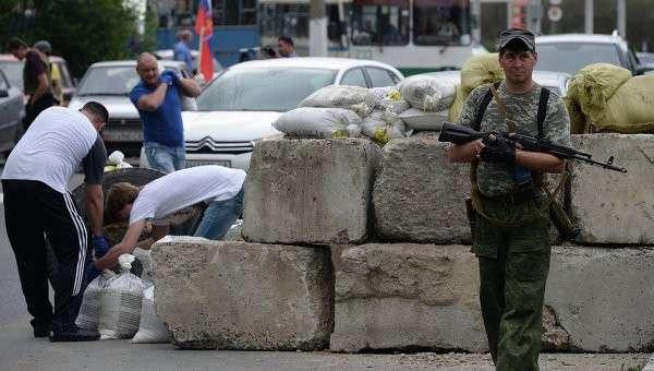 Ситуация в Донецке.Архивное фото