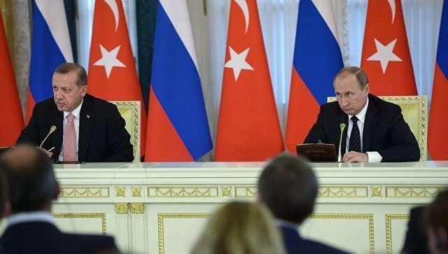 Эрдоган назвал В.Путина «дорогим другом» ипоблагодарил зазвонок после попытки госпереворота