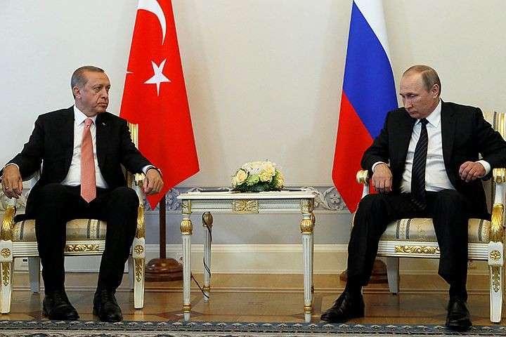 Президенты Владимир Путин и Реджеп Эрдоган хотят «обновить отношения»