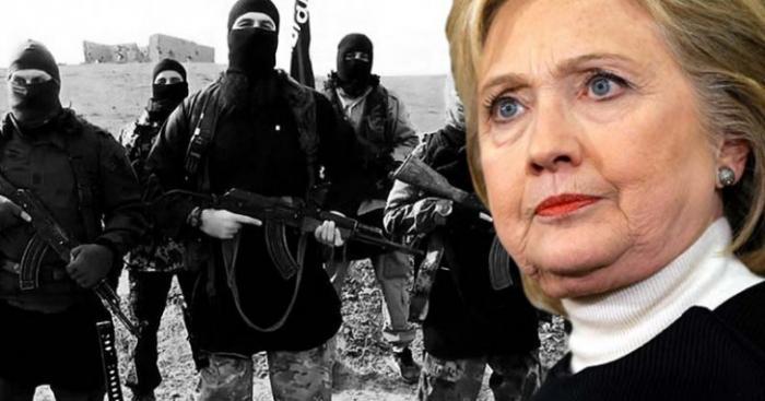 Злобная старуха Хиллари Клинтон финансируется за счёт синдиката Lafarge, который связан с ИГИЛ