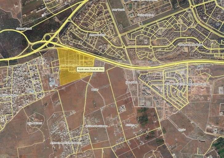 Ситуация под Алеппо к вечеру 09.08.2016