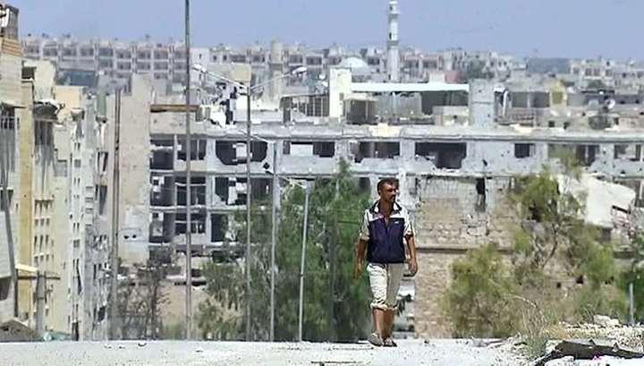 В освобождённые районы Алеппо продолжают возвращаться беженцы
