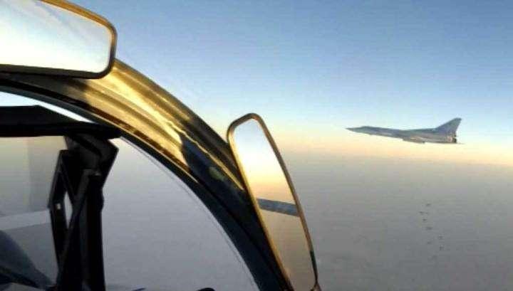 Русские бомбардировщики Ту-22 уничтожили химзавод и лагерь террористов под Раккой