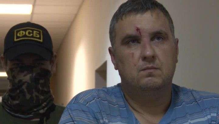 Попытка прорыва в Крым: глава диверсантов на допросе признал свою вину