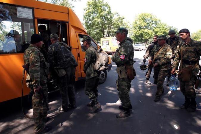 Ополченцы ушли из Украинского Краматорска