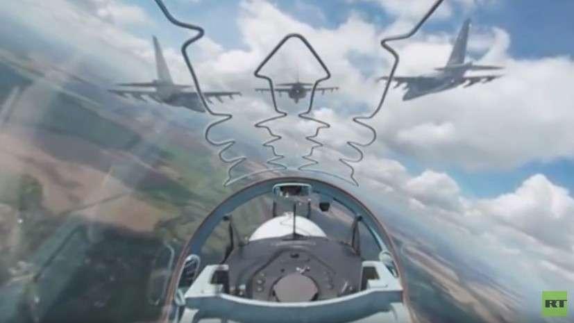 Видео 360: вид из кабины Як-130 на конкурсе «Авиадартс-2016»