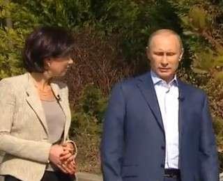 Владимир Путин: Интервью в преддверии Паралимпийских игр в Сочи