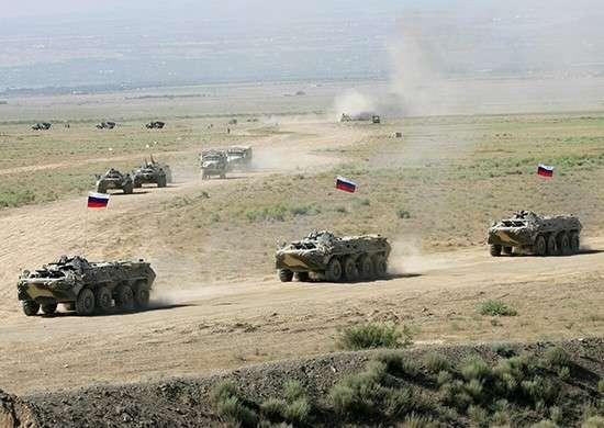 Россия начала масштабные военные учения на границе с Украиной