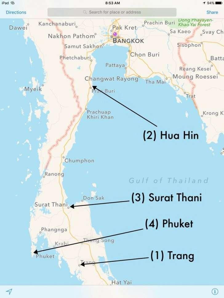 В Таиланде прогремела новая серия взрывов, есть погибшие и раненые