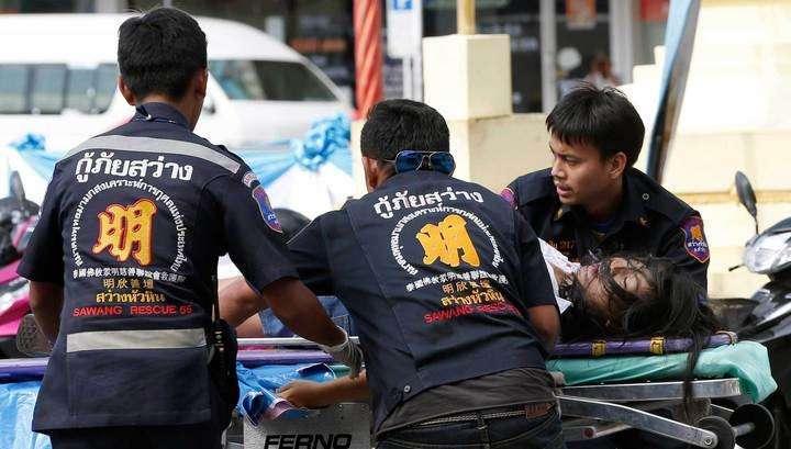 В Таиланде произошло 14 взрывов: 4 человека убиты и 27 ранены