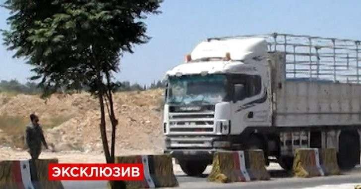 Террористы не смогли помешать доставке российского гуманитарного конвоя в Алеппо