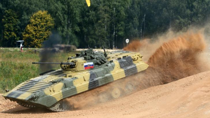 Финал танкового биатлона АРМИ-2016 на полигоне в Алабине — прямая трансляция