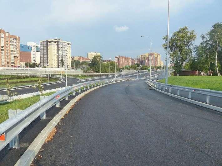 В Тюмени построена и уже открыта новая автомагистраль